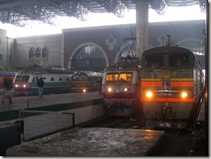 Trains Kazansky