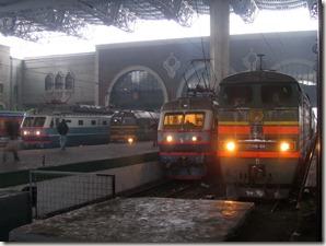 Trains Kazansky
